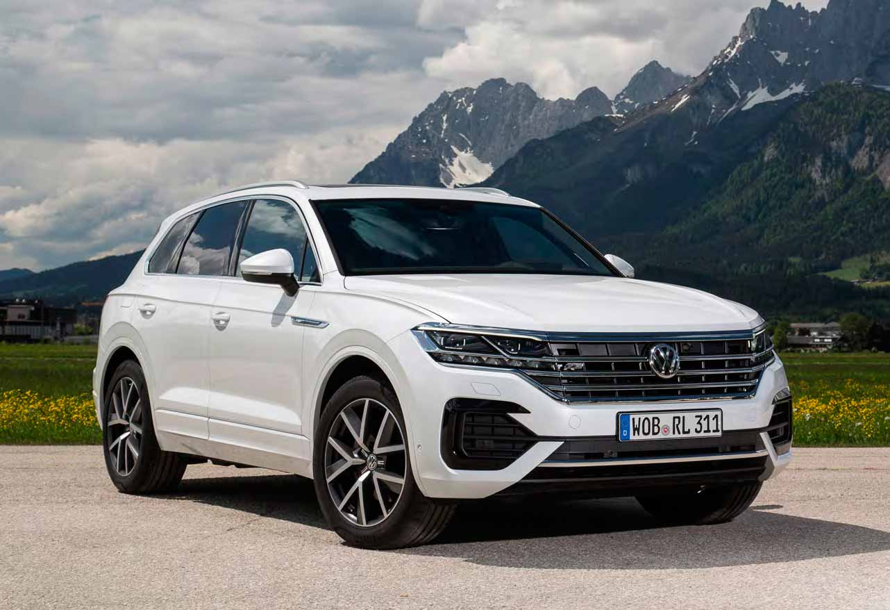 51 The Touareg Vw 2019 Spesification