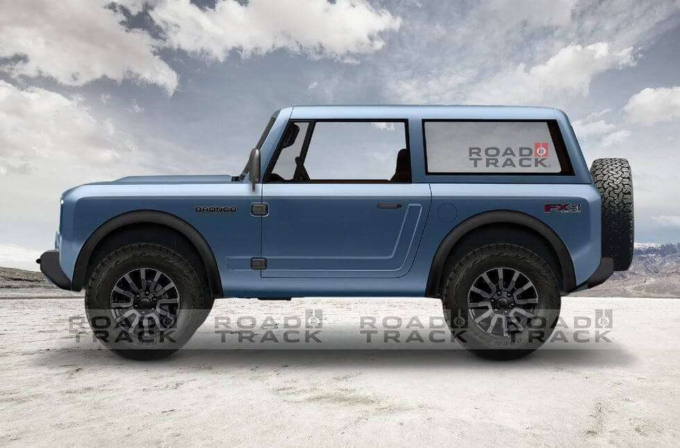 52 A 2019 Ford Bronco Convertible Redesign And Concept