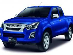 52 A 2019 Isuzu Pickup Truck Spy Shoot