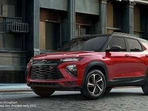 52 A All New Chevrolet Trailblazer 2020 Release Date