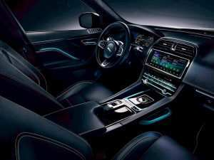52 A Jaguar F Pace 2020 Interior Research New