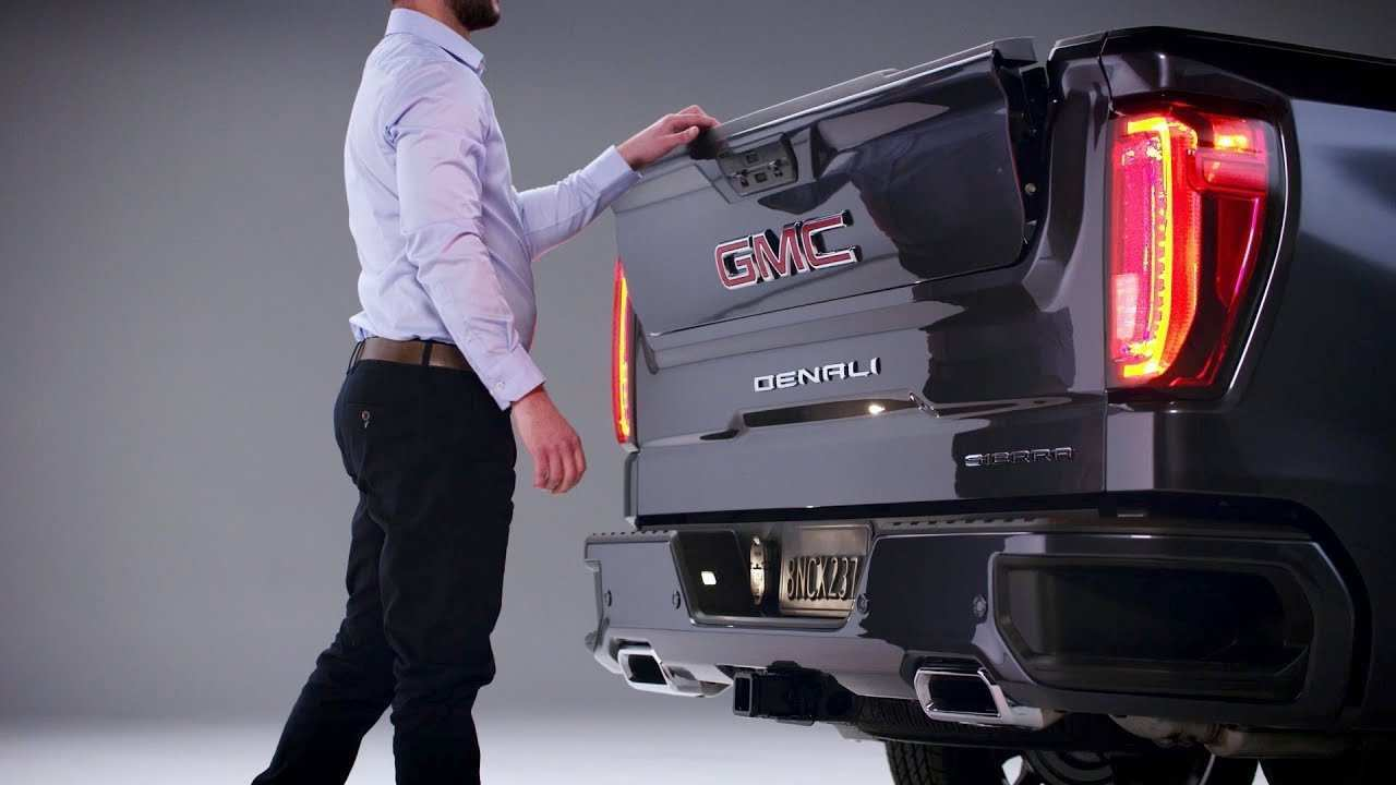 52 Best 2019 Gmc New Tailgate Exterior And Interior