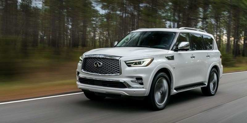 52 The Infiniti Qx80 2020 Interior New Model And Performance