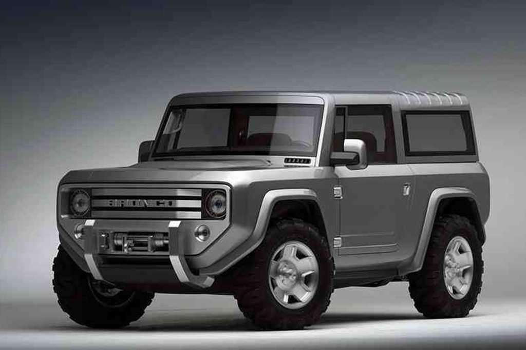 53 A Ford Bronco 2020 4 Door Spesification