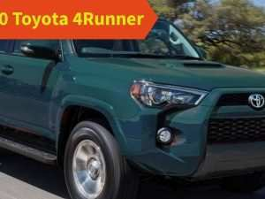 53 All New 2020 Toyota 4Runner Release Date Speed Test