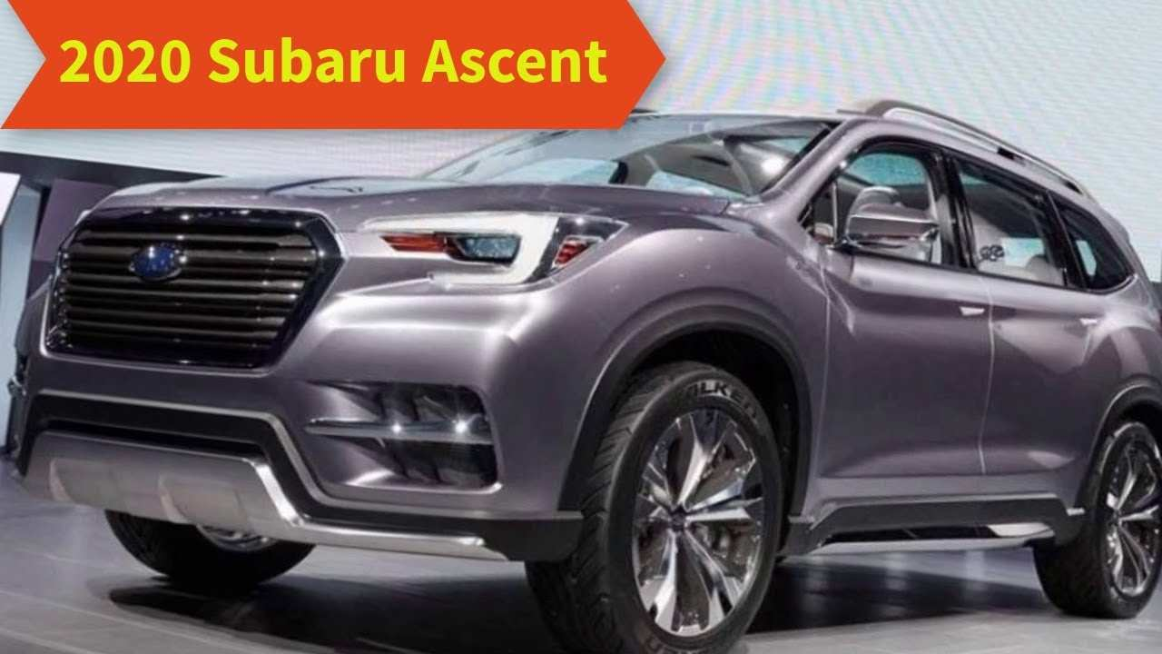 53 All New Subaru Ascent 2020 Release Date Price And Release Date