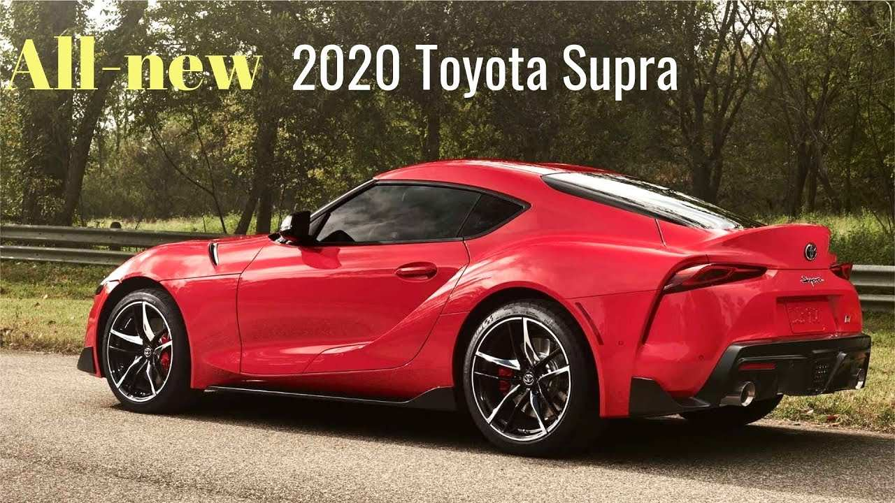 53 All New Toyota Supra 2020 Zero To Sixty New Model And Performance