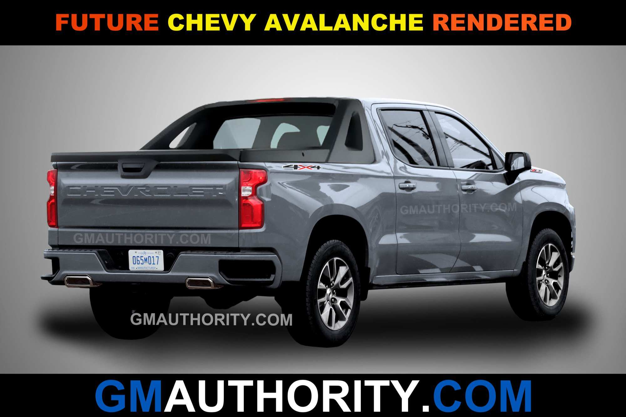 53 New Chevrolet Avalanche 2020 First Drive