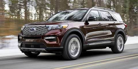 53 The Xe Ford Explorer 2020 Concept And Review