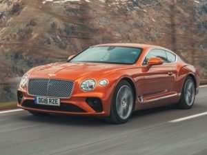 54 A 2019 Bentley Continental Gt V8 Overview
