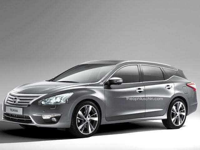 54 All New 2019 Nissan Altima Rendering Redesign