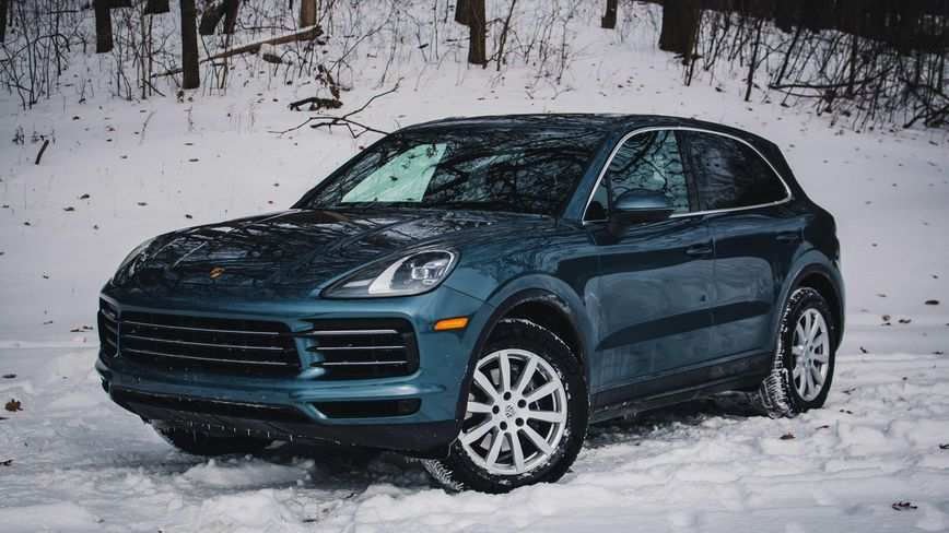 54 All New 2019 Porsche Cayenne Turbo Review Research New