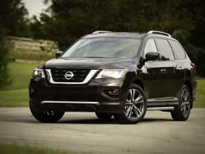 2019 Nissan Pathfinder Spy Shots