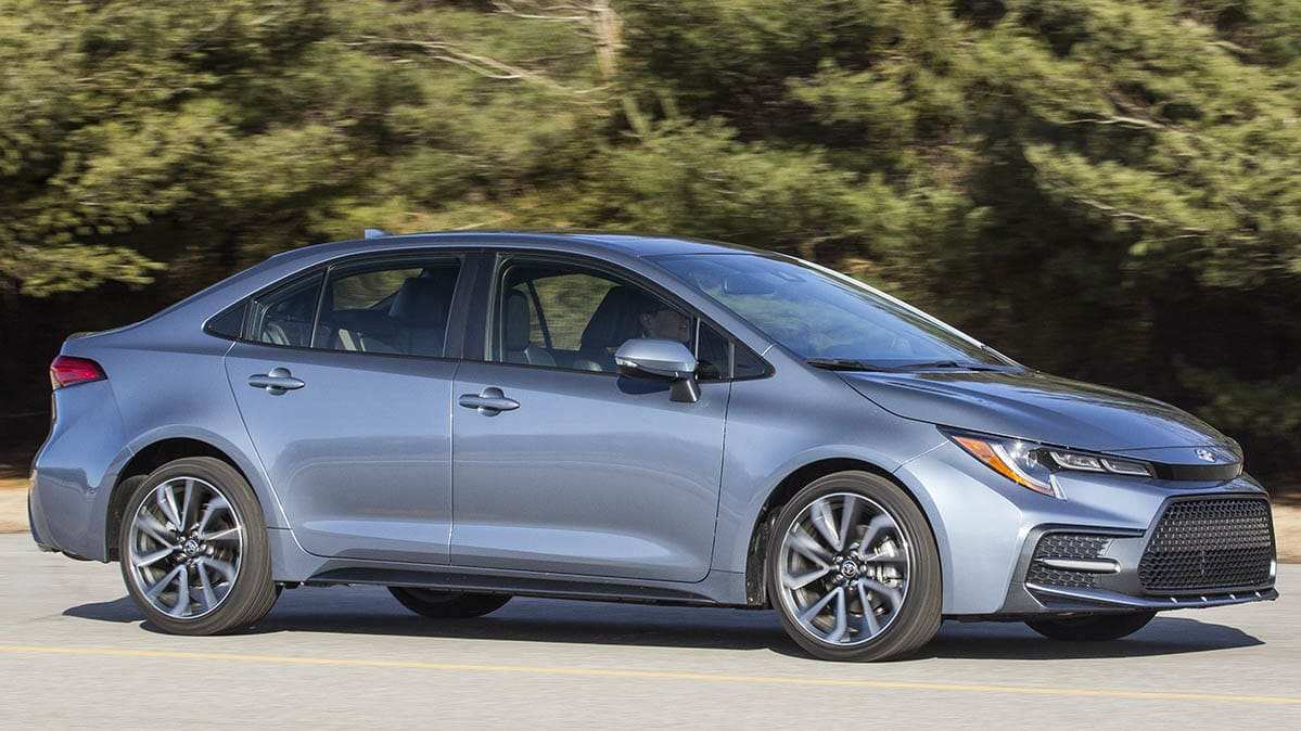 54 Best Toyota Corolla 2020 Sedan Redesign and Review
