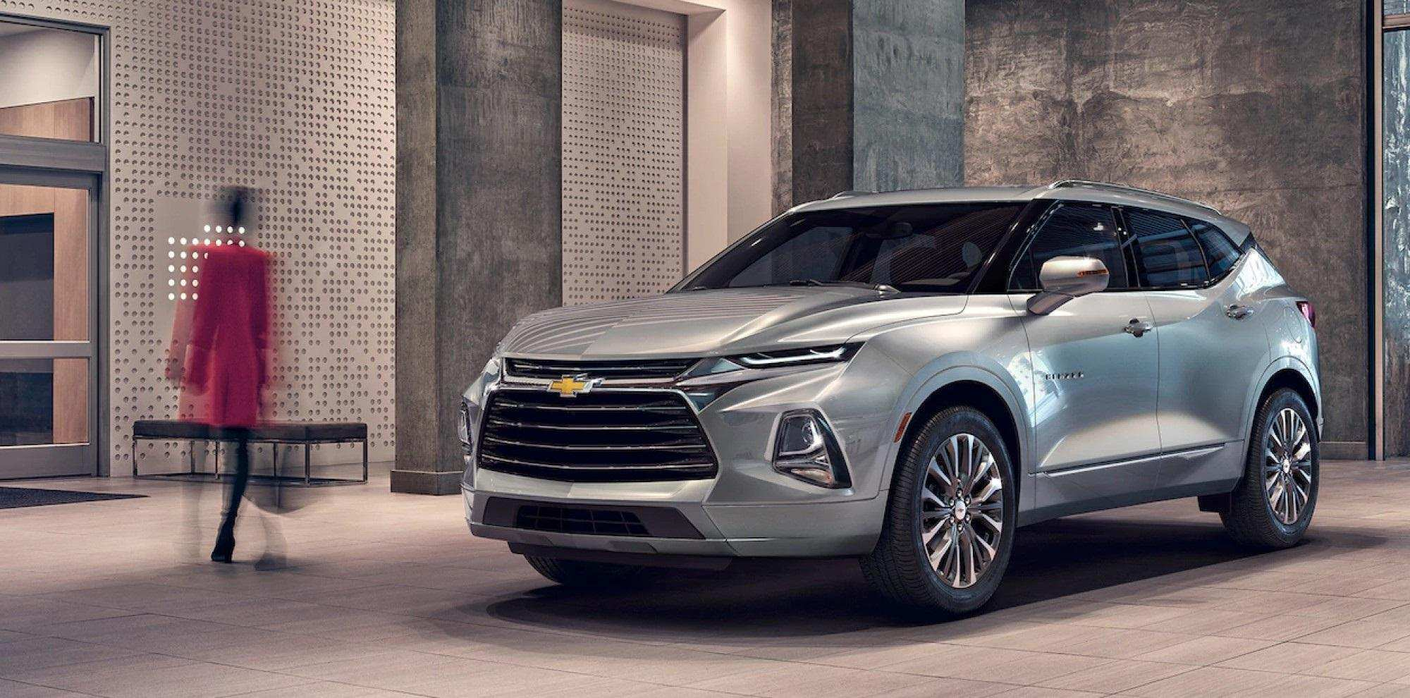 55 A 2019 Chevrolet Blazer Release Date New Model And Performance