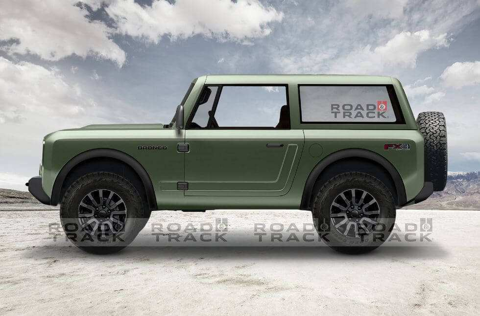 55 A 2020 Ford Bronco Release Date And Concept