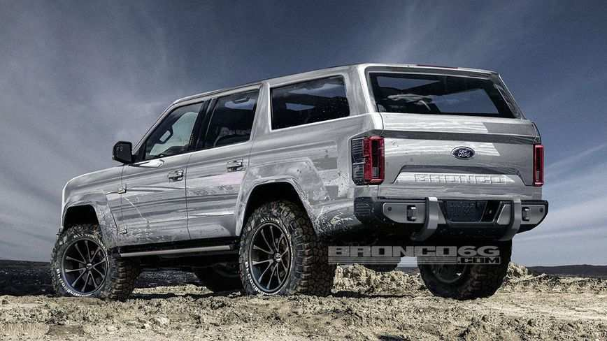 55 All New 2019 Dodge Bronco Redesign