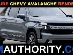 55 All New Chevrolet Avalanche 2020 New Concept