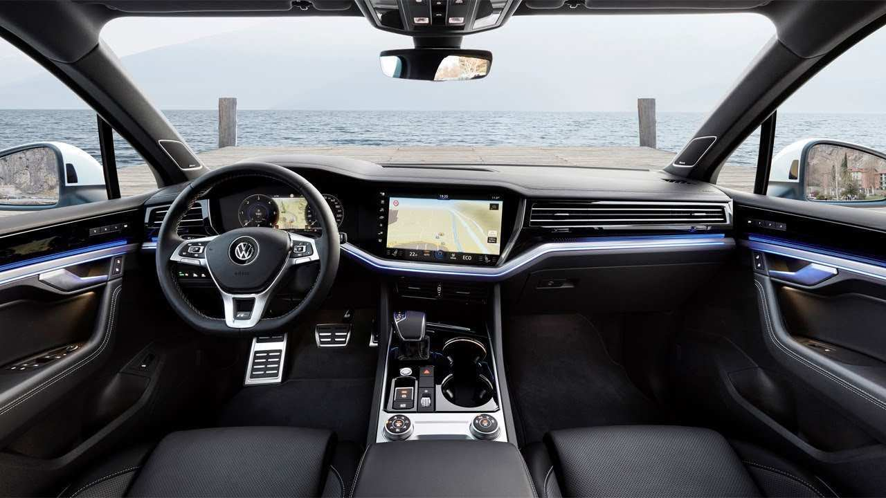 55 New Vw Touareg 2019 Interior Exterior And Interior