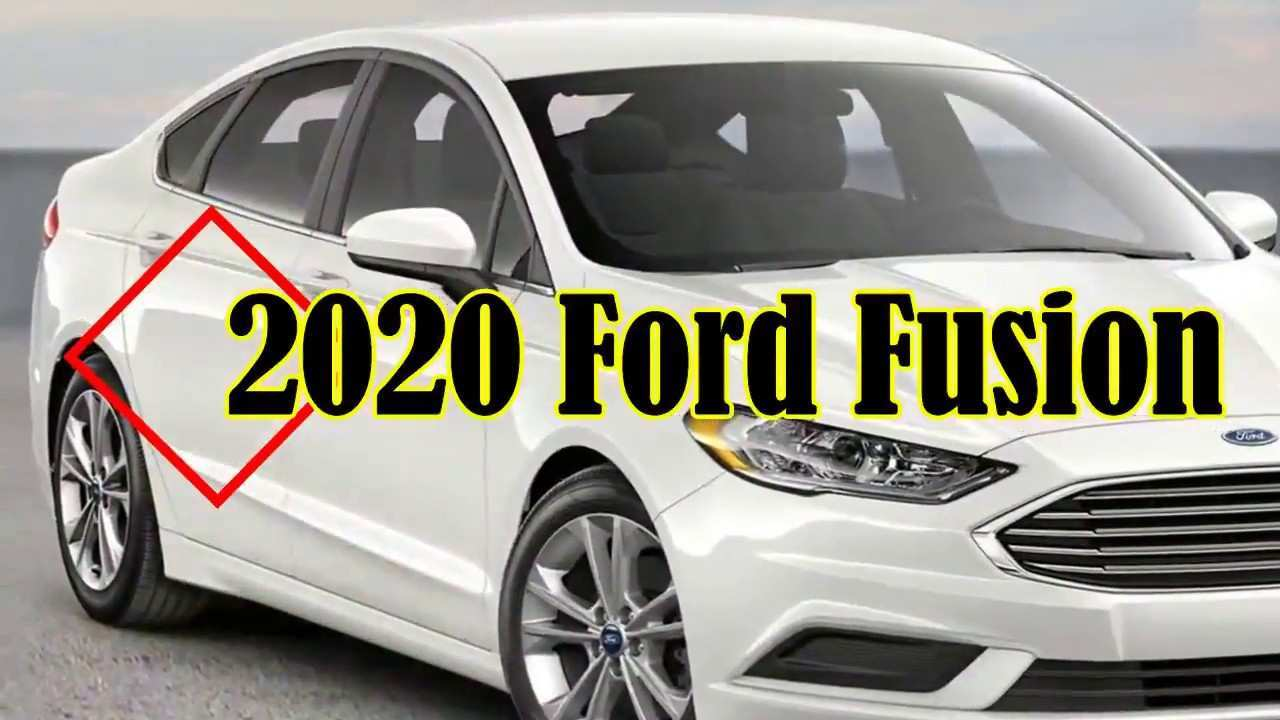 55 The 2020 Ford Fusion Redesign Configurations