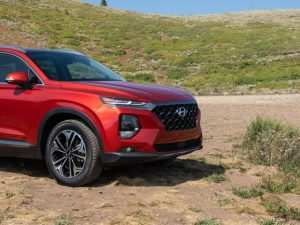 55 The Best 2019 Hyundai Santa Fe Test Drive Concept and Review
