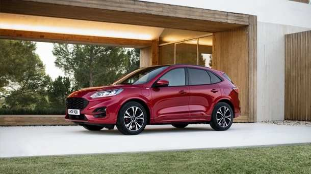 55 The Ford Kuga New 2020 Speed Test