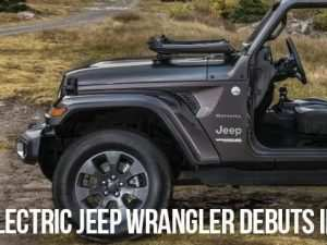 55 The Jeep Electric 2020 Pictures