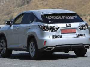 55 The Lexus Rx Facelift 2019 Rumors