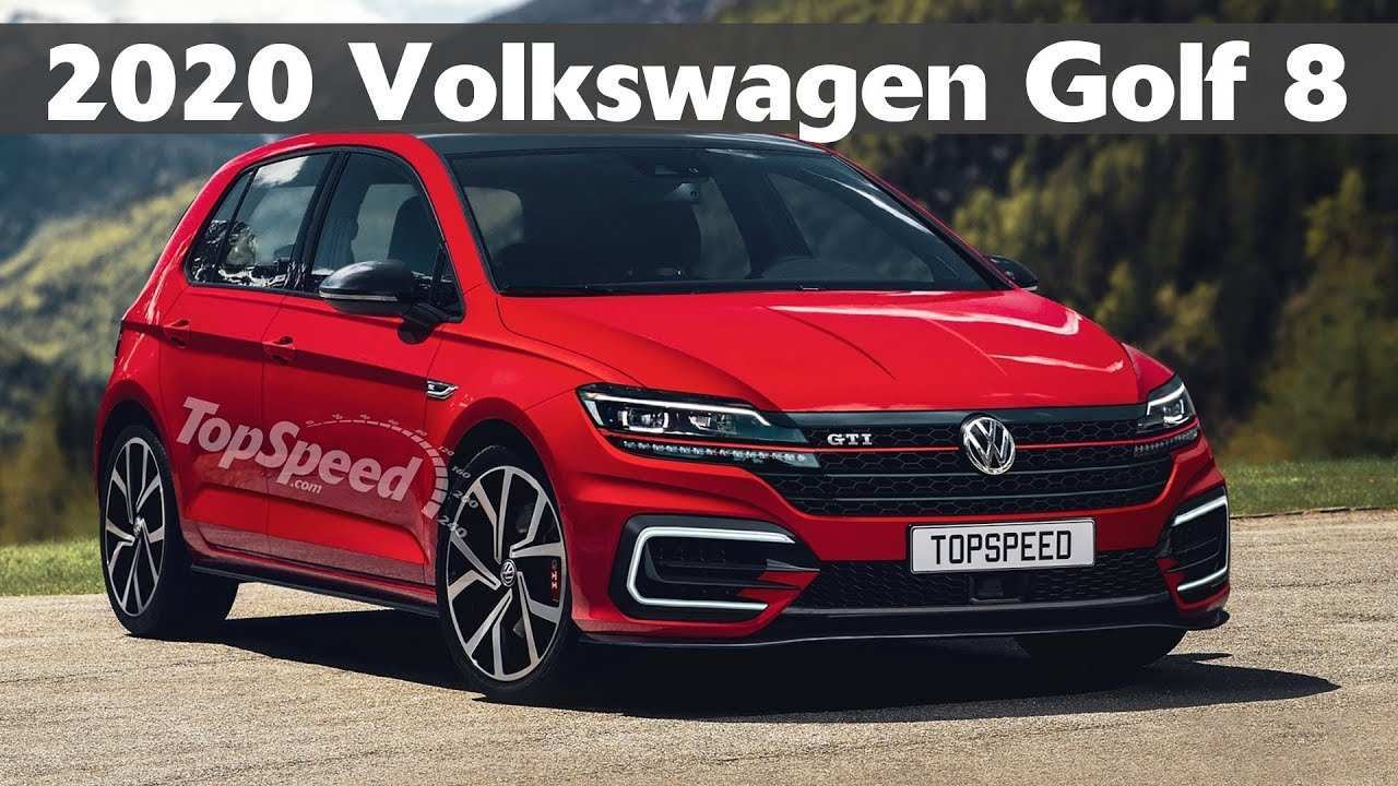 55 The Volkswagen Golf Mk8 2020 New Review