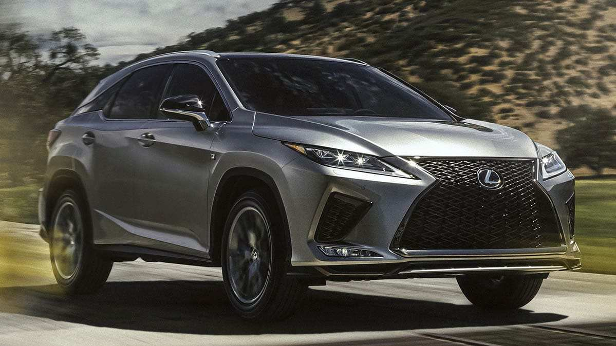 56 A 2020 Lexus Rx Release Date And Concept