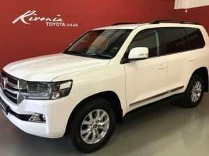 56 All New Toyota Land Cruiser V8 2019 Redesign and Concept