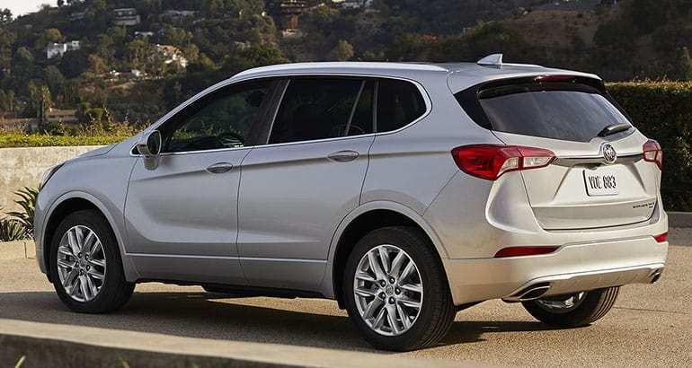56 New 2019 Buick Envision Review Redesign And Concept