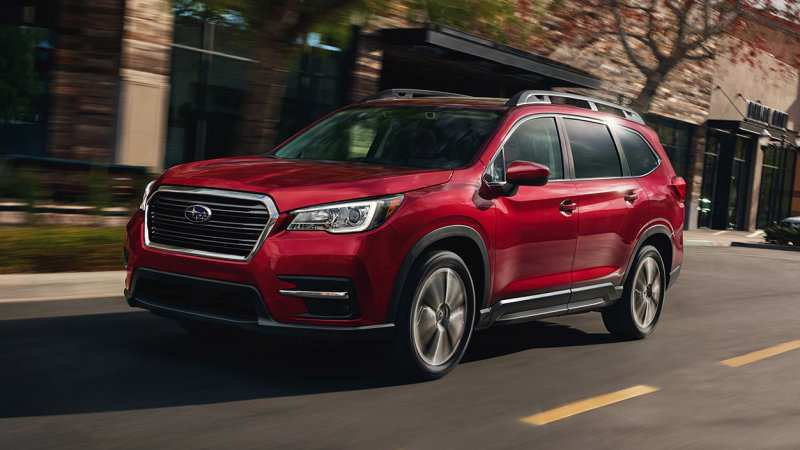 56 The Subaru Ascent 2020 Updates Release Date And Concept