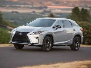 57 A 2019 Lexus 350 Suv Spy Shoot