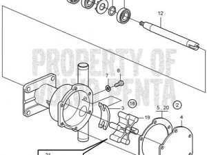 57 New Volvo Md2020 Parts Interior