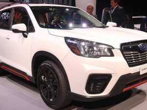 57 The 2019 Subaru Forester Spy Photos Performance and New Engine