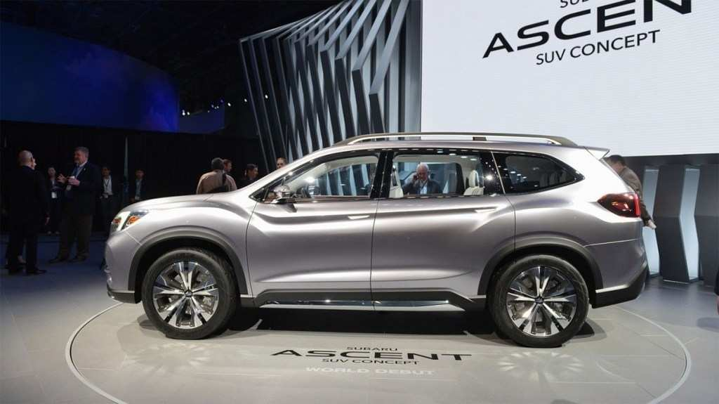 57 The Subaru Ascent 2020 Release Date Review And Release Date