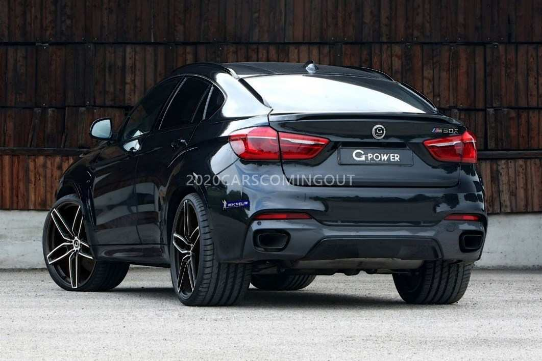 58 A BMW X6 2020 Release Date Performance And New Engine