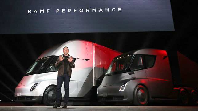 58 All New 2019 Tesla Semi Truck Research New