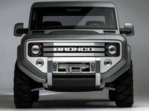 Dwayne Johnson Ford Bronco 2020