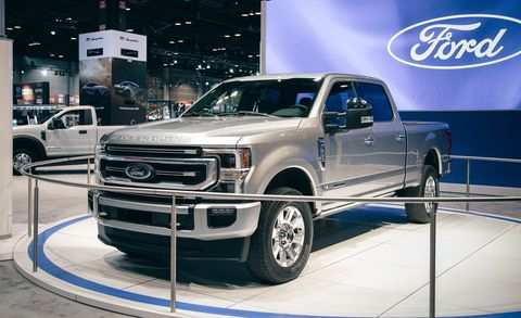 58 All New Ford Powerstroke 2020 First Drive