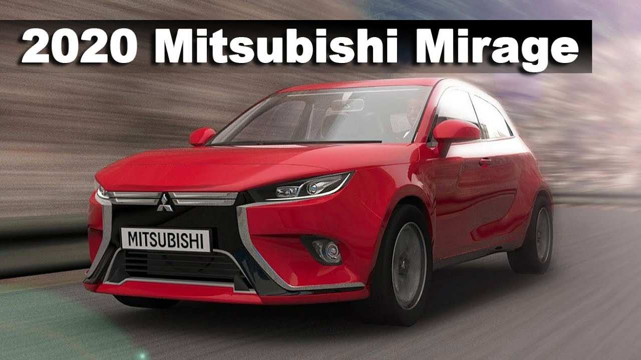 58 New 2020 Mitsubishi Mirage Hatchback Photos