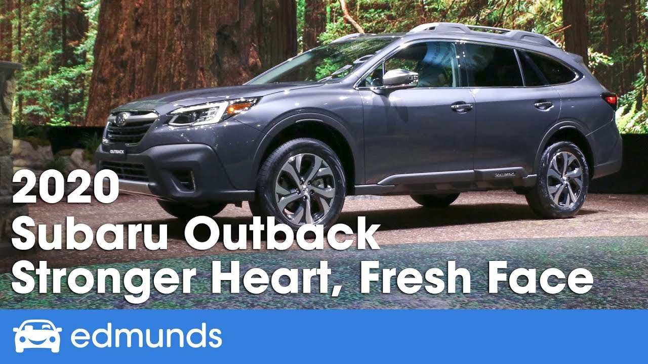 58 New When Does The 2020 Subaru Outback Go On Sale Review