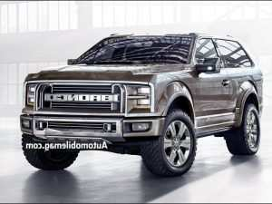 2019 Ford Bronco Images