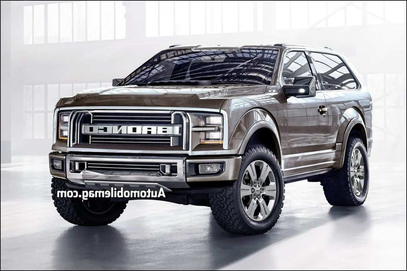 58 The 2019 Ford Bronco Images Rumors