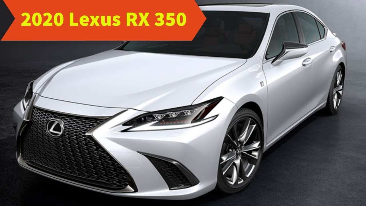 58 The 2020 Lexus Rx 350 Pictures Release