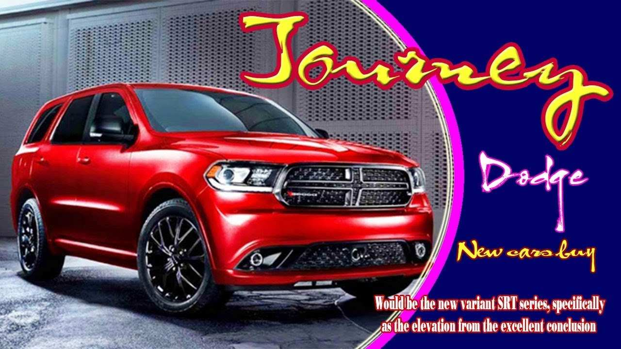 59 A 2020 Dodge Journey Crossroad Prices