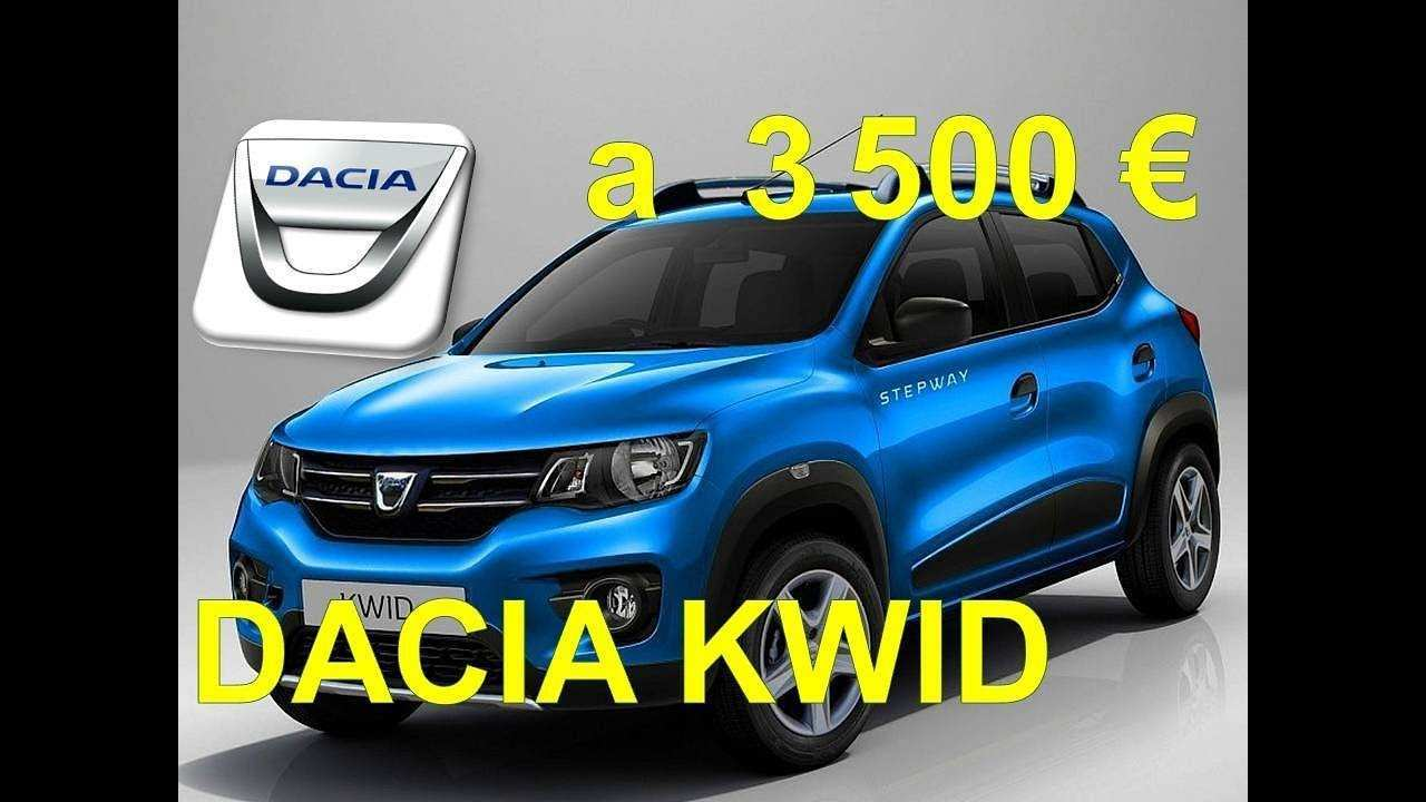 59 A Dacia Kwid 2019 Price Design And Review