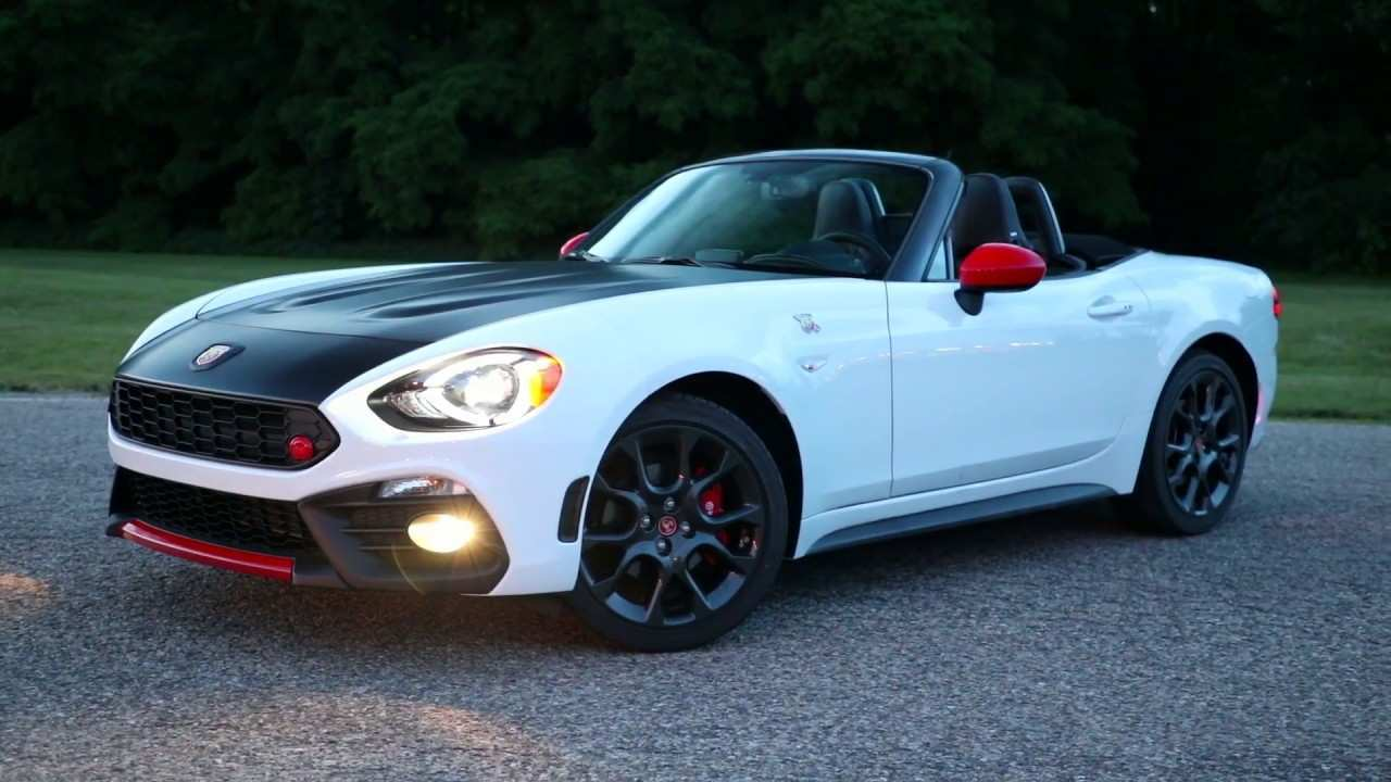 59 All New 2019 Fiat Spider Abarth Overview