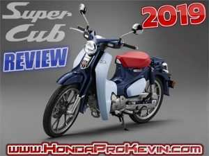 59 All New 2019 Honda Super Cub Top Speed Redesign and Concept